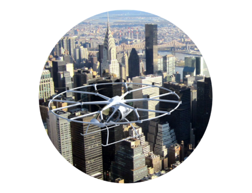 Volocopter – Illustrationen und Animationen