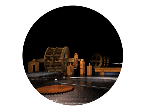 The magical machines of Salomon de Caus