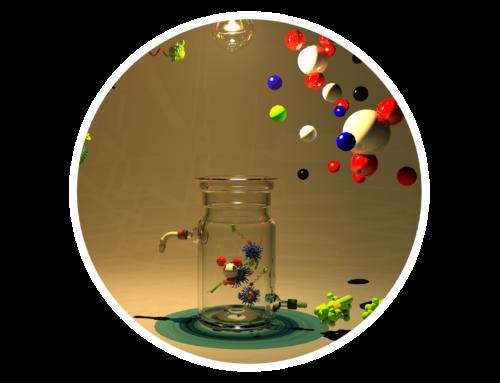 Nanoparticles – illustrations and 3D models