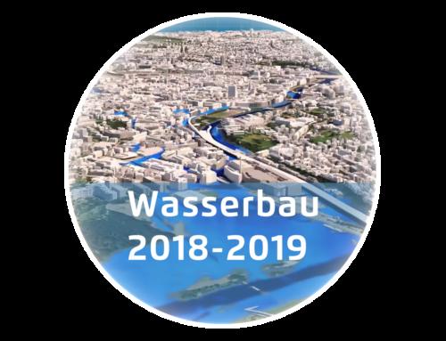 Wasserbauprojekte 2018-19 – Eine Übersicht